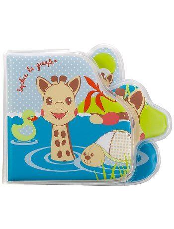 Livre de bain 'Sophie la Girafe' - Kiabi