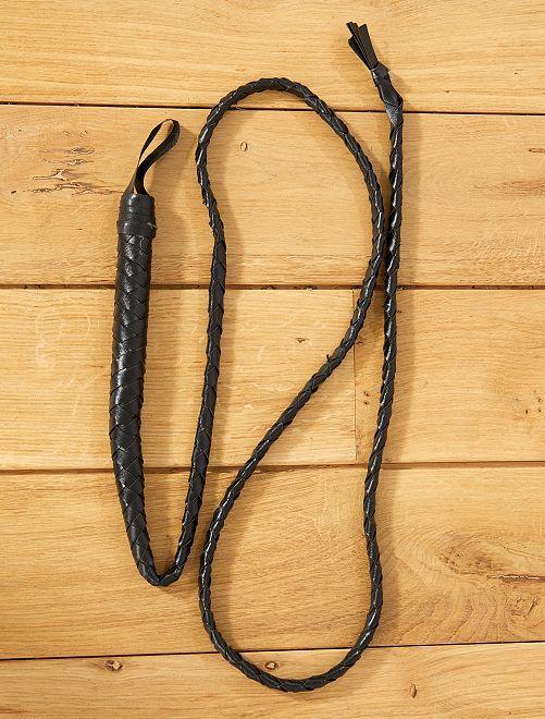 Long fouet                             noir Accessoires