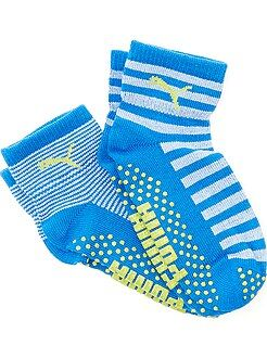 Garçon 3-12 ans Lot 2 paires de chaussettes antidérapantes 'Puma'