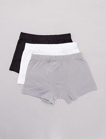 29207b9571836 Soldes sous-vêtements - boxers, t-shirts Garçon | Kiabi
