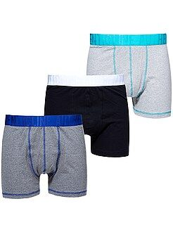 Grande taille homme Lot 3 boxers grande taille