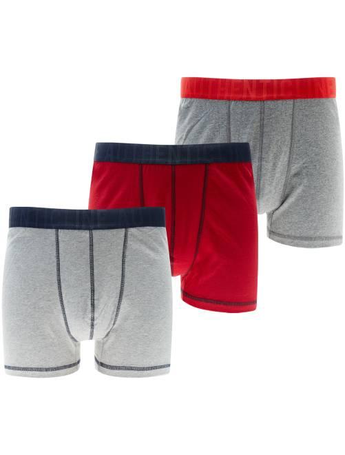 lot 3 boxers grande taille grande taille homme kiabi. Black Bedroom Furniture Sets. Home Design Ideas