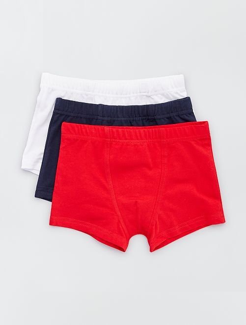 Lot 3 boxers                                                     ROUGE