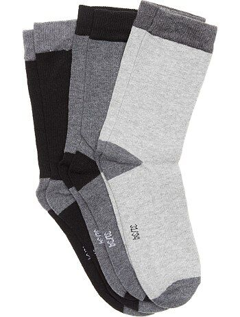 Lot 3 paires de chaussettes - Kiabi