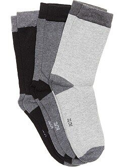 Garçon 4-12 ans Lot 3 paires de chaussettes