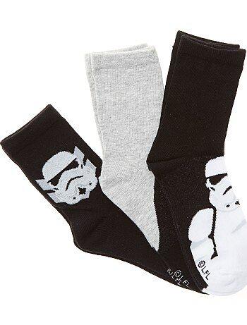 Lot 3 paires de chaussettes `Star Wars`