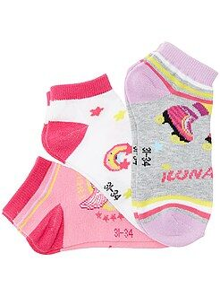 Lot 3 paires de socquettes 'Soy Luna'