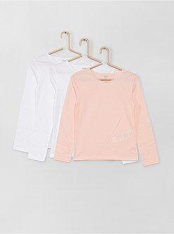 Lot 3 t-shirts coton