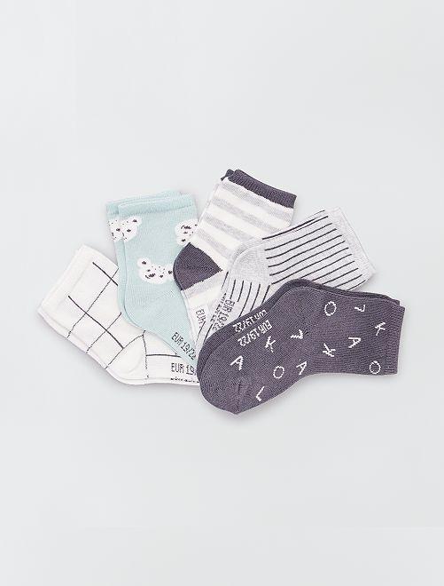 Lot 5 paires de chaussettes éco-conçues                                                                 koala