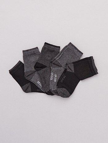 f0dd667ffc702 Garçon 3-12 ans - Lot 5 paires de chaussettes - Kiabi