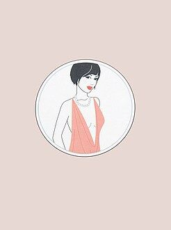 Accessoires lingerie - Lot d'adhésifs pour vêtements - Kiabi