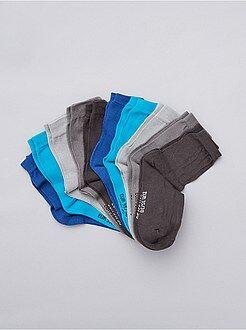 Garçon 4-12 ans Lot de 10 paires de chaussettes