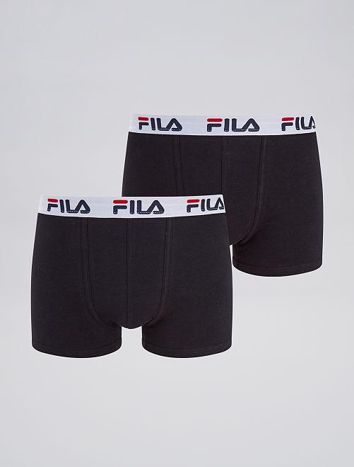 Lot de 2 boxer 'FILA'                             noir Homme
