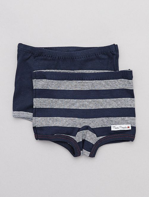 Lot de 2 boxers 'Absorba'                             bleu