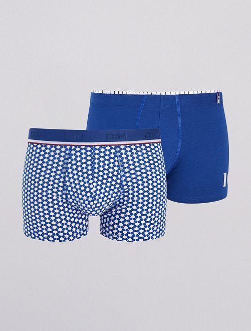 Lot de 2 boxers 'Dim Cup'                                         bleu