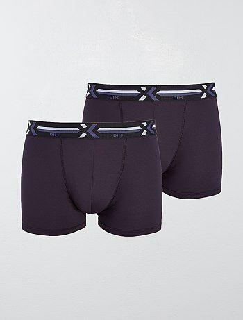 ac3484118cac8 Boxer homme uni   coton et par lot - Vêtements homme