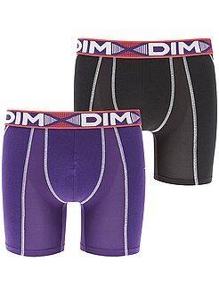 Lot de 2 boxers longs 'Dim'