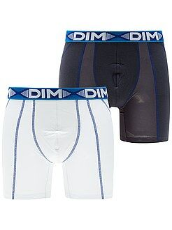 Homme du S au XXL Lot de 2 boxers longs 'Dim 3D Flex Air'