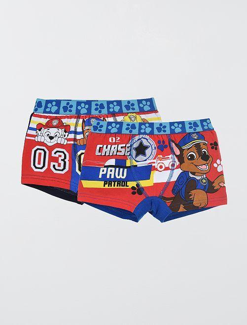 Lot de 2 boxers 'Pat'Patrouille'                             noir/bleu
