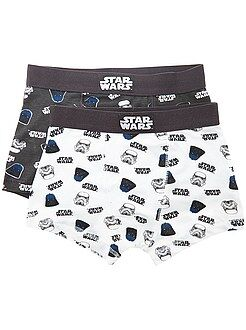Sous-vêtement - Lot de 2 boxers 'Star Wars' - Kiabi