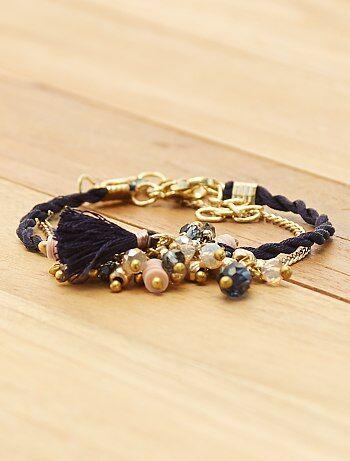 Femme du 34 au 48 - Lot de 2 bracelets - Kiabi