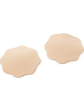 Lot de 2 cache-mamelons adhésifs en tissu - Kiabi