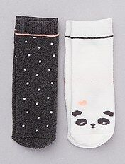 4 Paire De Bébé Filles Chaussettes Avec Dentelle Parage Couleur Blanc Diverses Tailles