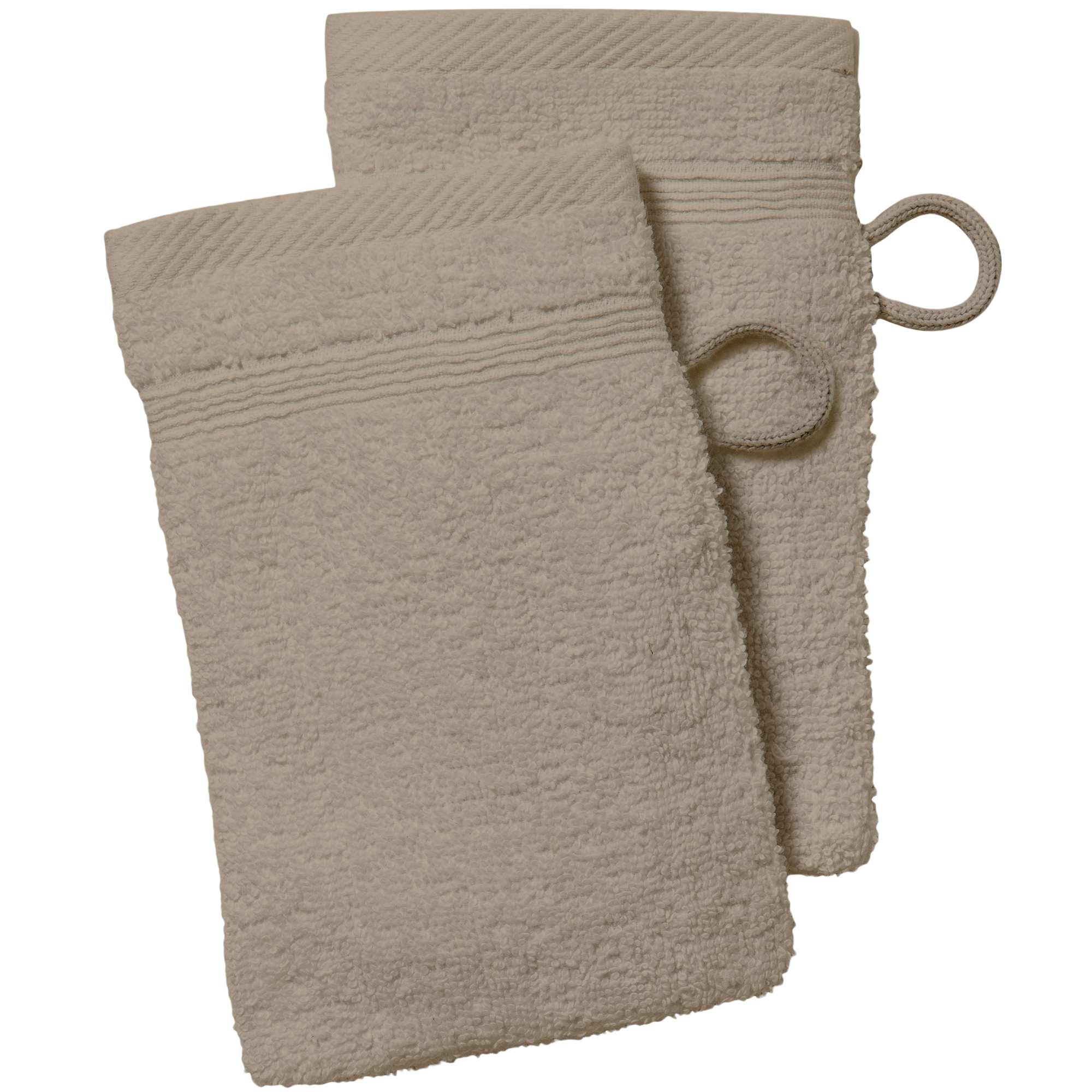 lot de 2 gants de toilette linge de lit kiabi 2 00. Black Bedroom Furniture Sets. Home Design Ideas