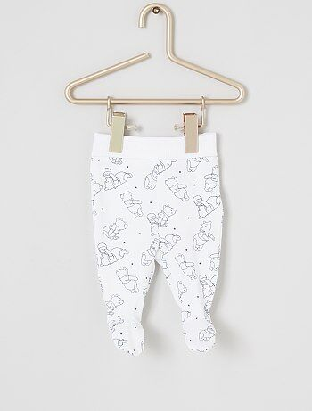 Lot de 2 leggings 'Winnie l'Ourson' éco-conçus