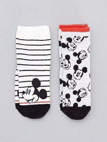 Lot de 2 paires de chaussettes 'Mickey' - Kiabi