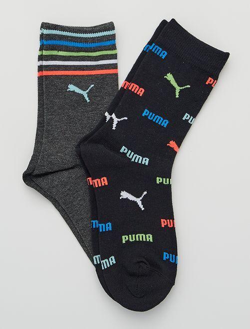 Lot de 2 paires de chaussettes 'Puma'                                         noir