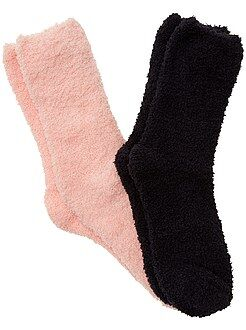 Fille 3-12 ans Lot de 2 paires de chaussettes