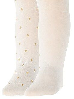 Fille 3-12 ans Lot de 2 paires de collants