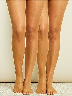 Collants - Lot de 2 paires de collants légers voile 8D - Kiabi