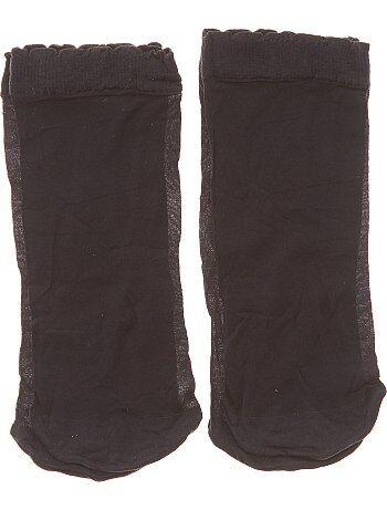 Lot de 2 paires de socquettes