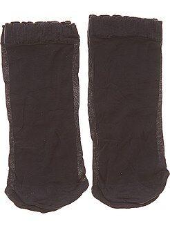 Lingerie du S au XXL Lot de 2 paires de socquettes