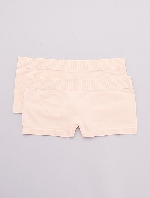 Lot de 2 shorties                                                                                         ROSE