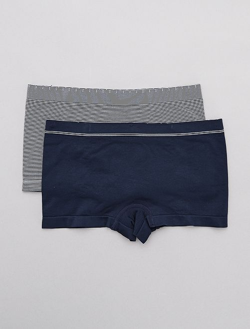 Lot de 2 shorties sans coutures 'Billet Doux'                                                                 BLEU