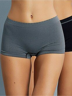 Culotte, shorty, string taille 42/44 - Lot de 2 shorties sans coutures 'Billet Doux'