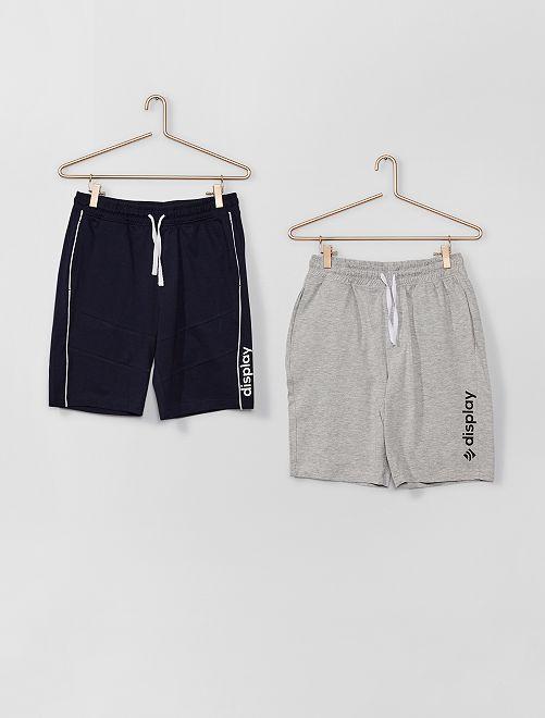 Lot de 2 shorts                             bleu