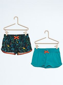 Fille 3-12 ans Lot de 2 shorts en coton