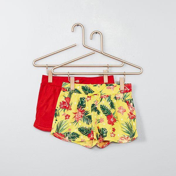 haut de gamme authentique haute qualité prix compétitif Lot de 2 shorts légers