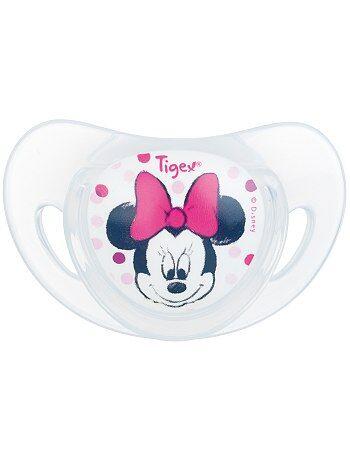 Fille 0-36 mois - Lot de 2 sucettes physiologiques 'Minnie' - Kiabi