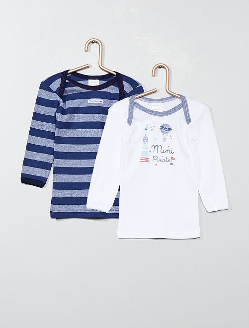 Lot de 2 t-shirts 'Absorba'                             blanc