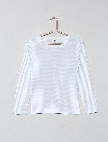 ab398d5b4664c Fille 3-12 ans - Lot de 2 t-shirts manches longues - Kiabi