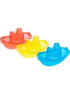 Lot de 3 bateaux flottants pour le bain