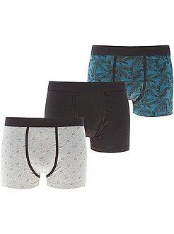 Sous-vêtements - Lot de 3 boxers - Kiabi