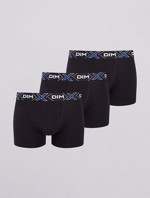 Lot de 3 boxers 'DIM'                                         noir