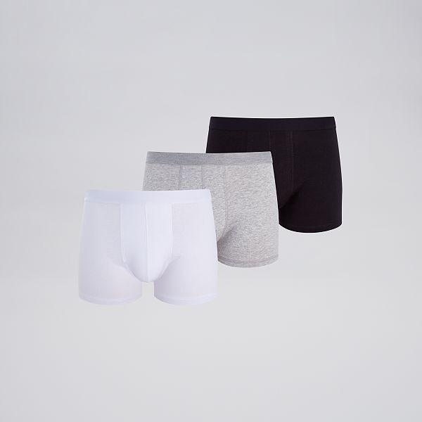 Lot de 3 boxers éco conçus Homme blegrrge Kiabi 9,00€