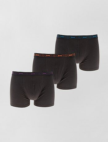 Lot de 3 boxers en coton stretch de 'DIM' - Kiabi